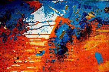 Abstracte schilderkunst - Ravijnzicht 5 van C. Catharina