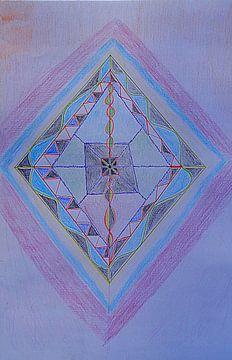 Tantric Oneness van Parallel Dream Art