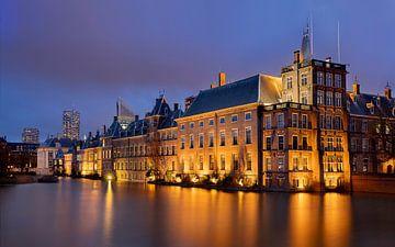Binnenhof en Hofvijver, Den Haag, Nederland van Adelheid Smitt