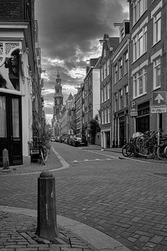 Bloemstraat Amsterdam van Peter Bartelings Photography