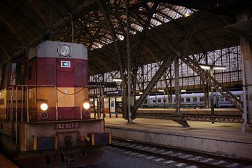 Station Praag von Een Vrouwsel