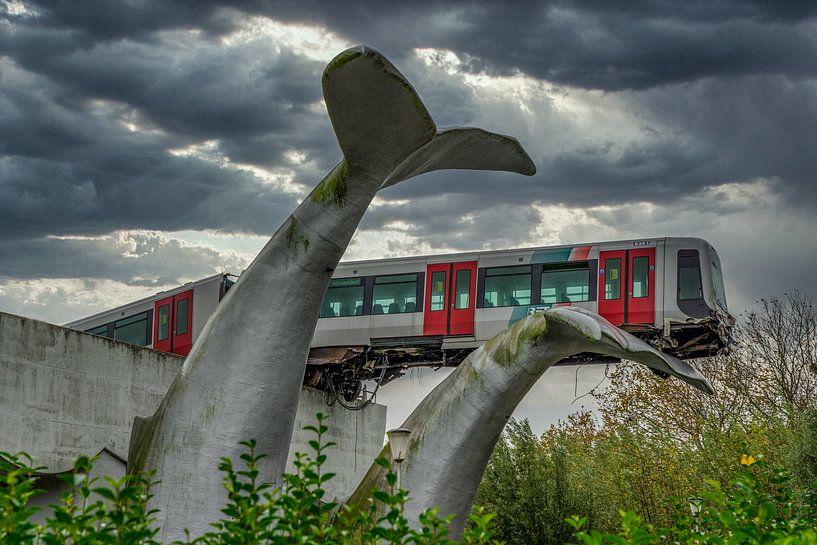 Metrocrash van Leo Luijten