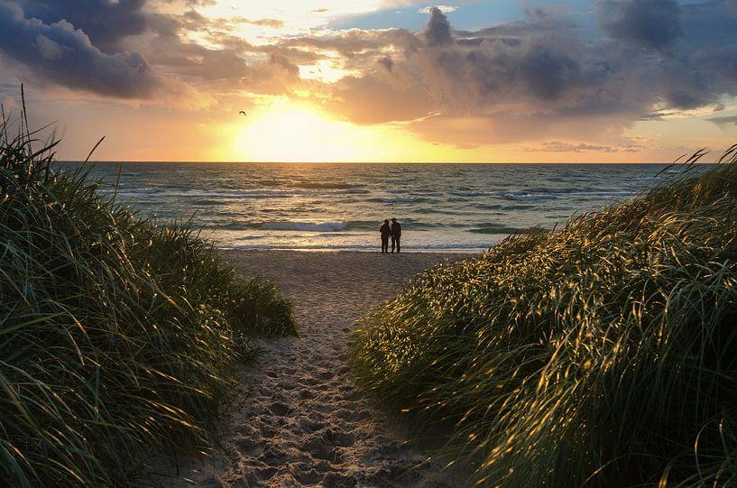 Strandaufgang van Steffen Gierok