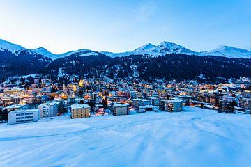 Davos en Suisse sur Werner Dieterich