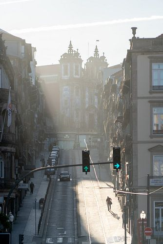 Ochtendlicht in Porto
