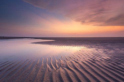 Ribbels in het kleurige zand - Natuurlijk Ameland