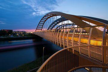 Drie bruggen over Amsterdam-Rijnkanaal Utrecht von André Russcher