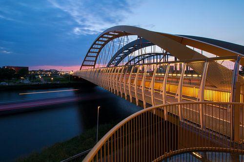Drie bruggen over Amsterdam-Rijnkanaal Utrecht van