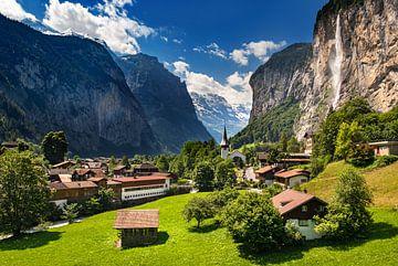 Lauterbrunnen, Zwitserland van Adelheid Smitt