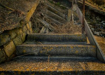 Treppe von Sylvia Duits-Hofland