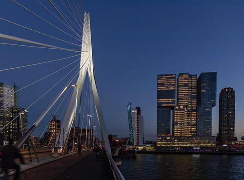 Pont Erasmus & l'office  Rotterdam sur