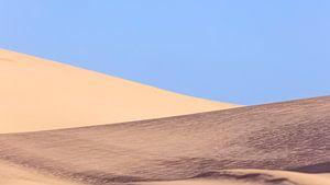 Duinen Worimi nationaal park, Australië van Rob van Esch