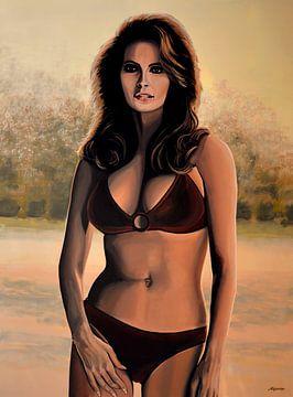 Raquel Welch Gemälde 2 von Paul Meijering