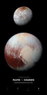 Pluto en Charon, laatste verkenning van het zonnestelsel van Sascha Kilmer