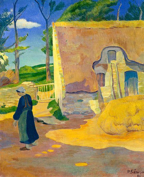 Boerderij in Le Pouldu, Paul Serusier