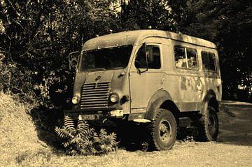 Verlassener Lastwagen von Ruud Crins
