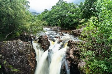 Falls of Glen Nevis van Floris van Woudenberg