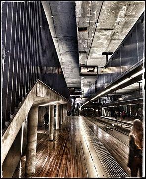 De metro in Den Haag van SPOOR Spoor