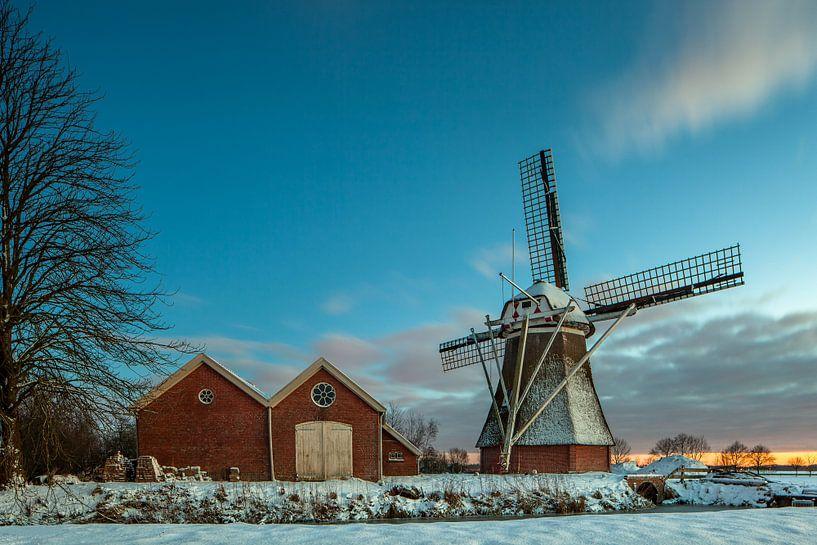 Hollandse winter van Marc Smits