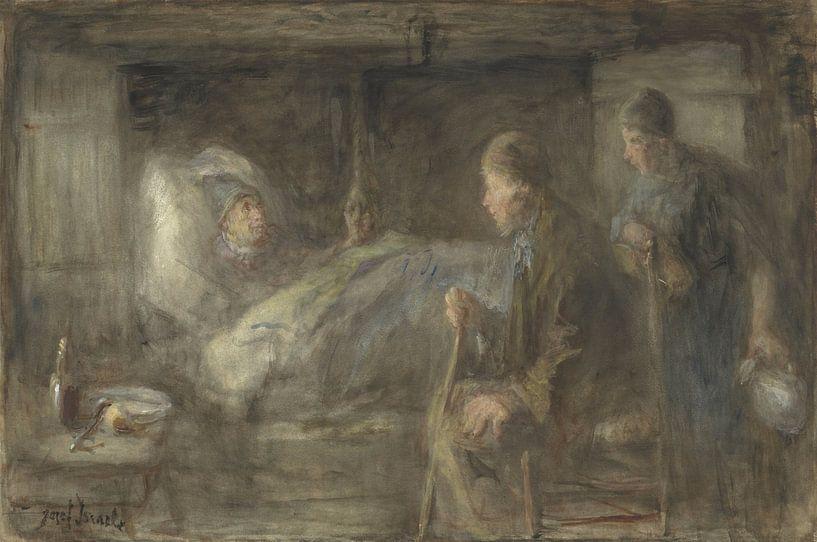 Der kranke Nachbar, Jozef Israëls. von Meesterlijcke Meesters