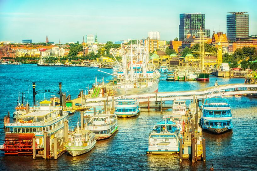 Hamburger Hafen von Holger Debek