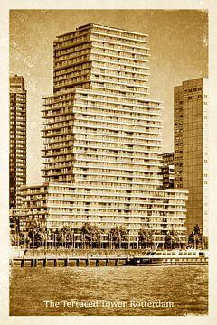 Oud ansicht The Terraced Tower, Rotterdam