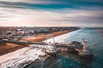Der Pier - Scheveningen von Michiel de Bruin