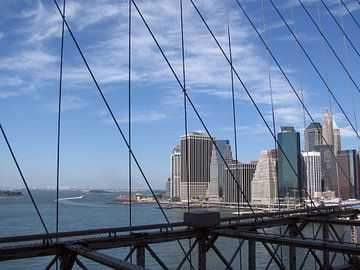 New York Skyline van Maartje Kuperus