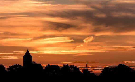 Zalk na zonsondergang