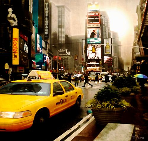 Yelow Cab - Time Square New York