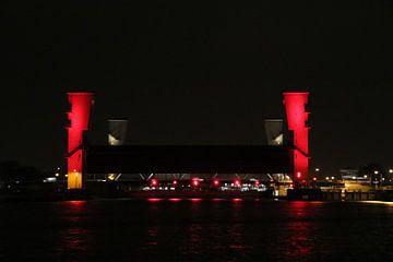Hollandsche IJssel en Algerakering bij Krimpen aan den IJssel sur André Muller