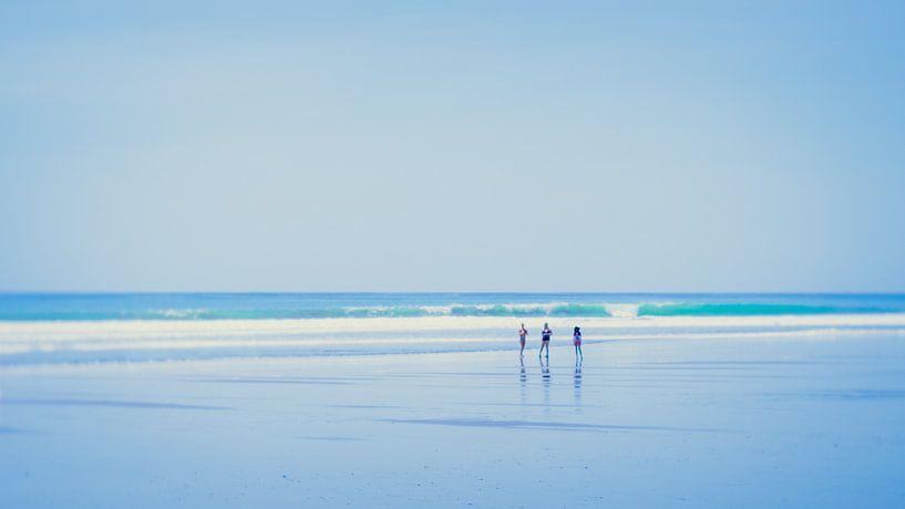 At the beach (1) van Rob van der Pijll