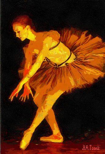 Degasian Ballerina