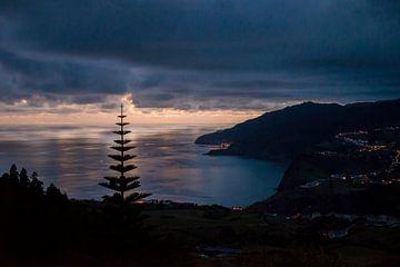Bewölkter Sonnenuntergang von Ellis Peeters
