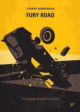 No051 My Mad Max 4 Fury Road minimal movie poster van Chungkong Art