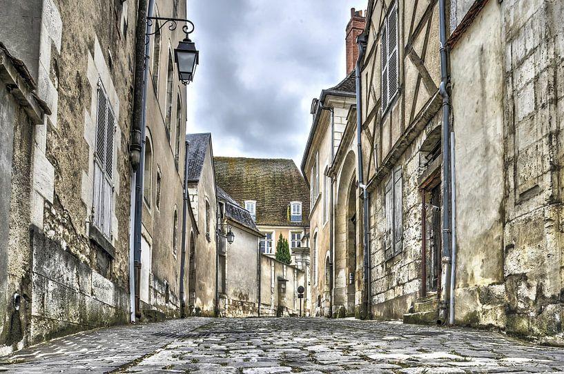 Bourges, Rue de l'hotel de l allemant van Frans Blok