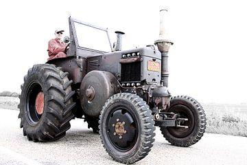 Lanz Bulldog Tractor van Wybrich Warns
