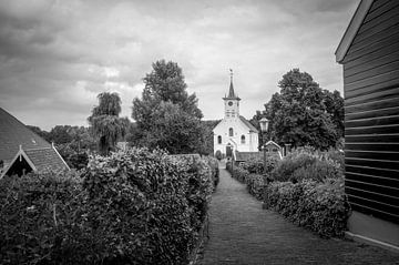 Wijkergouw - Schellingwouderkerk van Hugo Lingeman
