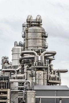 Chemical plant sur Sjoerd van der Wal