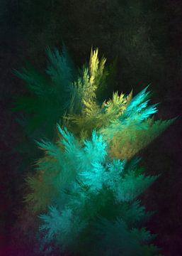Fraktale abstrakte Kunst Wald 3 #Fraktale #Abstrakt von JBJart Justyna Jaszke