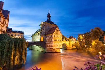 Oud stadhuis in Bamberg van Jan Schuler