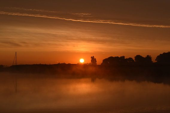 Ein Morgen auf dem Wasser