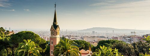 Zicht op Barcelona
