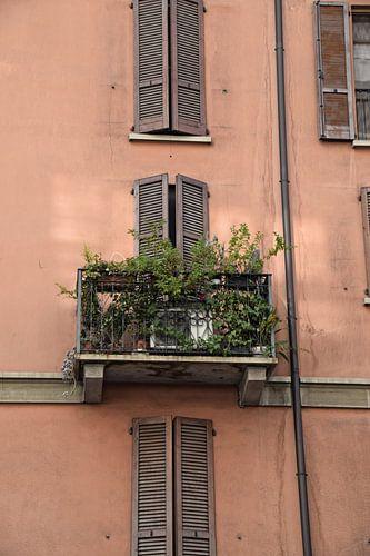 Balkon in Milaan van