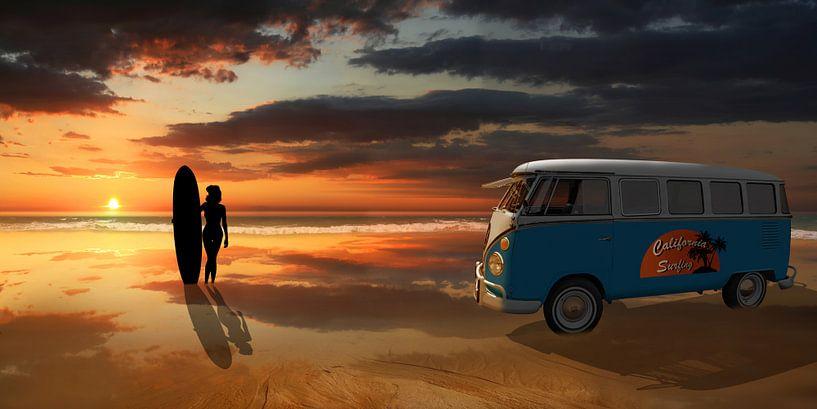 California surfing van Monika Jüngling