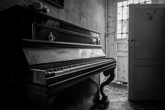 De piano van Chantal Nederstigt