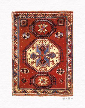 Marokkaanse tapijt i, Farida Zaman van Wild Apple