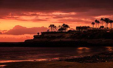 Coucher de soleil de Ténérife sur Joram Janssen