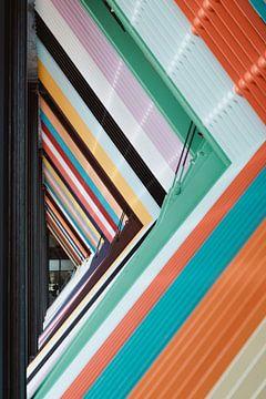 Regenbogenzaun Architekturdetails Rijksvastgoedbedrijf von Jonai
