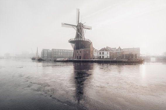 Haarlem: Molen De Adriaan. van Olaf Kramer